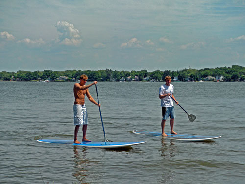 stand up paddle boards for rent Holland, MI